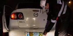 نقرهداغ ۳۹ راننده و جریمه ۲۴۰۰ خودرو در طرح ضربتی برخورد با مخدوشی پلاک!