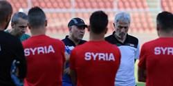 سوریه برای دیدار با ایران استارت زد+عکس