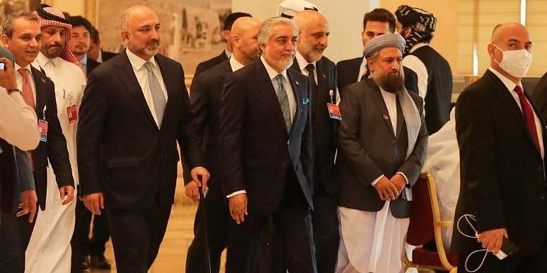 توافق طالبان و دولت کابل در نشست دوحه برای برگزاری نشست مجدد با هدف تسریع مذاکرات