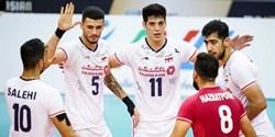 والیبال قهرمانی آسیا  پرواز از روی دیوار چین/ ایرانِ بیرحم فینالیست شد