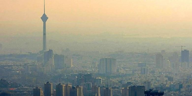 ذرات معلق ریه تهرانیها را نشانه گرفت/کاهش دمای هوا درپایتخت