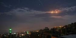 مقابله پدافند هوایی سوریه با حمله اسرائیل به فرودگاه نظامی