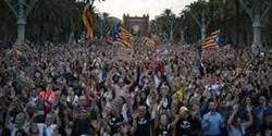 راهپیمایی هزاران نفری در حمایت از استقلال کاتالونیا