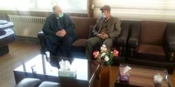 رئیس شورای اسلامی استان کرمانشاه با مدیرکل منابع طبیعی استان دیدار کرد