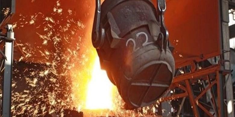 تولید فولاد ایران در نیمه نخست سال 2021 به 15 میلیون تن رسید