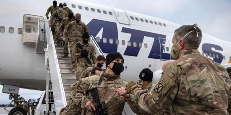 پنتاگون: بیش از نیمی از نظامیان آمریکا از افغانستان خارج شدند