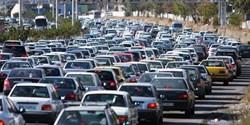 ترافیک در معابر بزرگراهی پایتخت