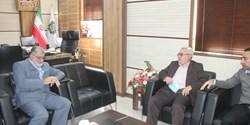 رئیس شورای اسلامی استان خوزستان با مدیرکل امور مالیاتی استان خوزستان دیدار کرد