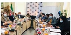 جلسه اعضای شورای اسلامی استان گلستان با مدیرعامل آب منطقه ای استان برگزار شد