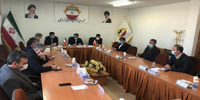سی و هفتمین جلسه شورای اسلامی استان اردبیل
