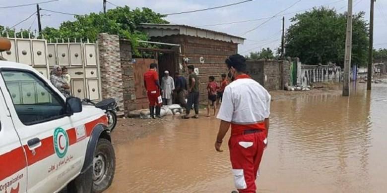 معاون عملیات سازمان امداد و نجات اعلام کرد؛امدادرسانی در ۳۲ شهر و روستای درگیر سیل